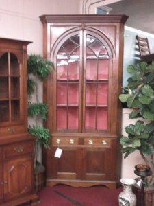 Antique Corner Cupboard