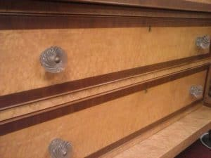 Drawer Fronts on the Vermont Butler's Chest