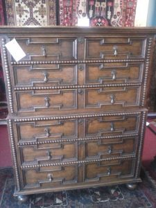 william and mary chest of drawers