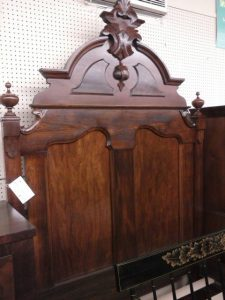 Headboard with Recessed Panels