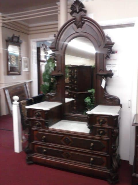 Antique Dresser Victorian Furniture