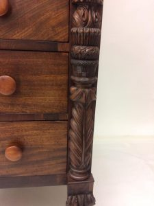 Carved Empire Chest