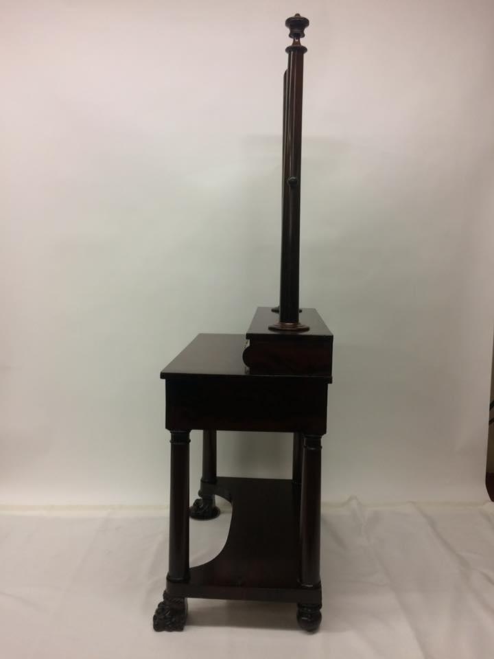 ... Profile Of Mahogany Dressing Table ...