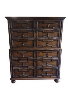 william and mary antique chest