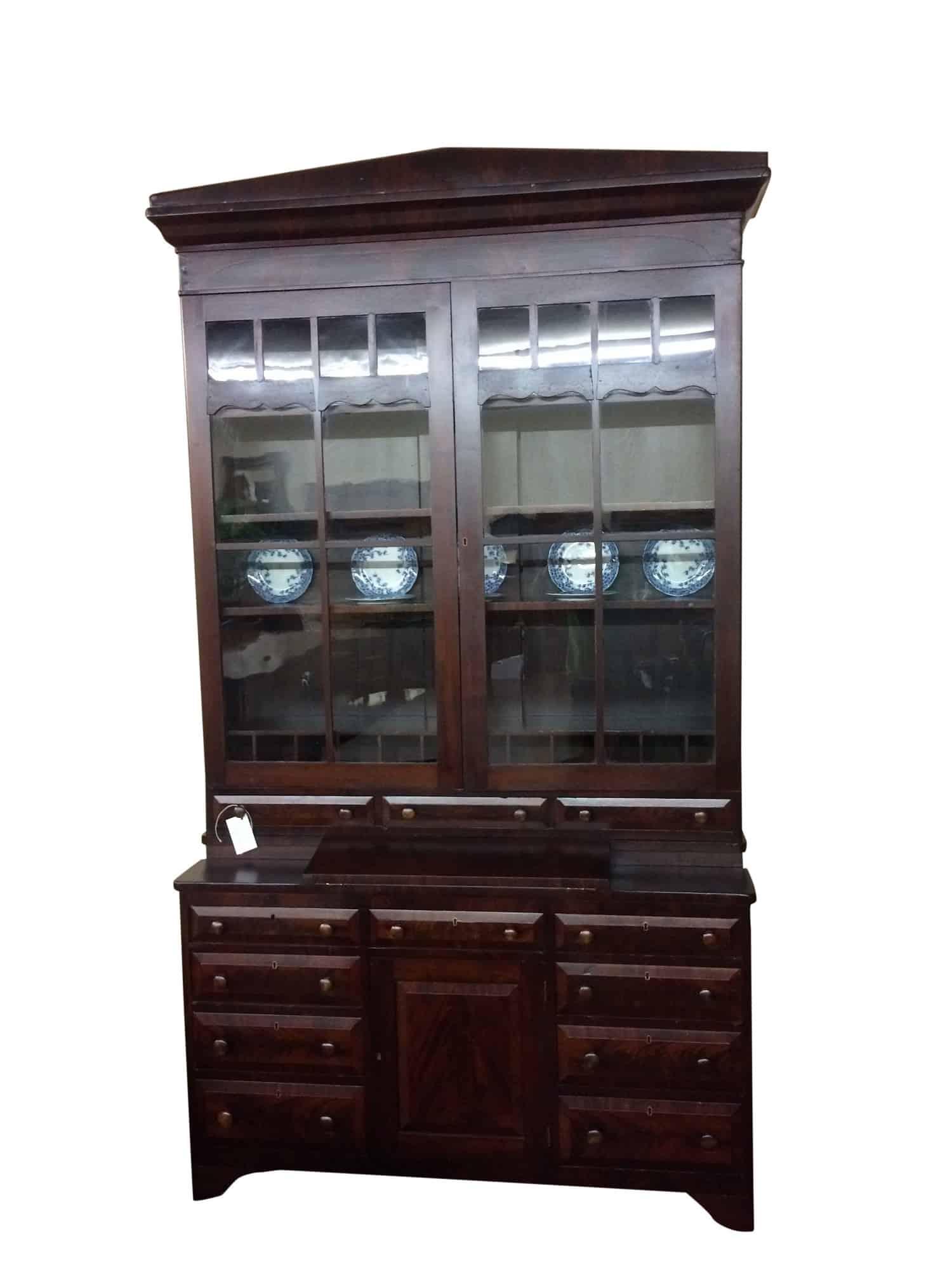 Antique Secretary Desk With Hutch - Antique Secretary Desk With Hutch ⋆ Bohemian's