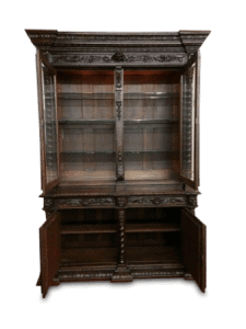 Antique Hunt Cabinet