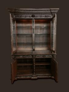 Antique Hunt Cabinet