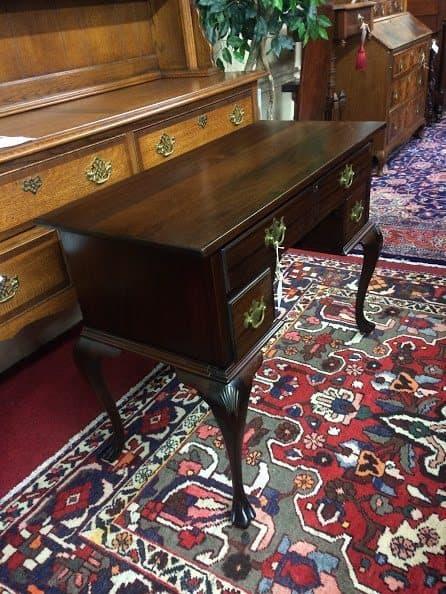 Antique Mahogany Desk Paine Furniture Company Bohemian
