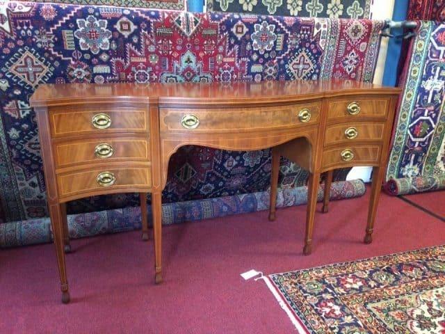 Northern Furniture Mahogany Inlaid Sideboard Northern Furniture Company ...