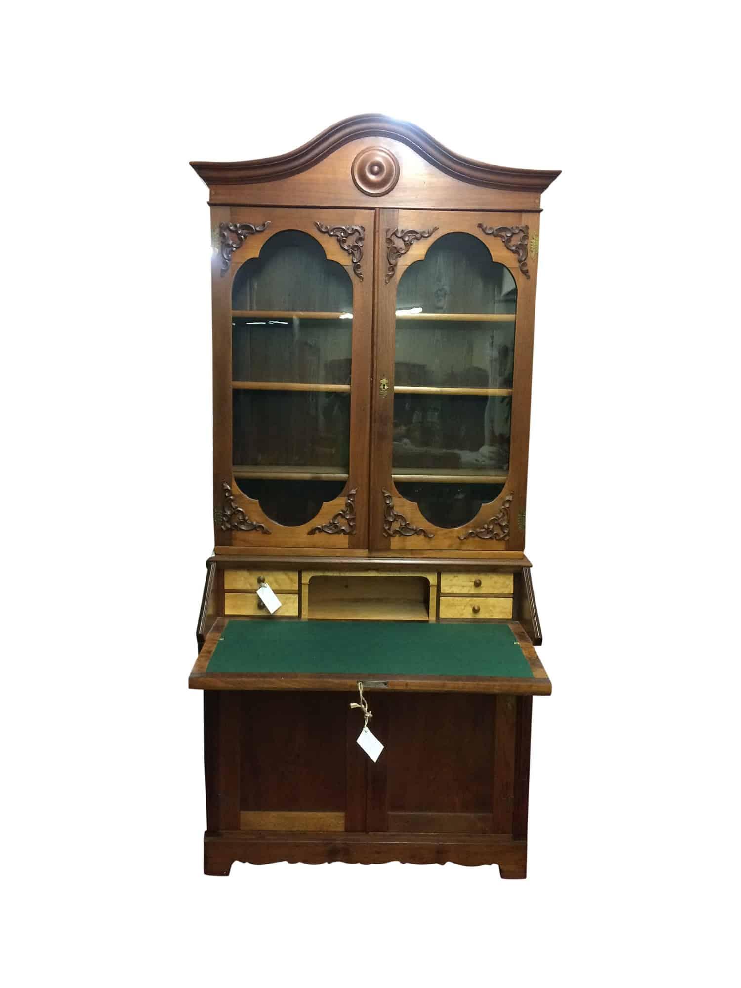 Victorian Desk Antique Secretary Desk Bohemian S