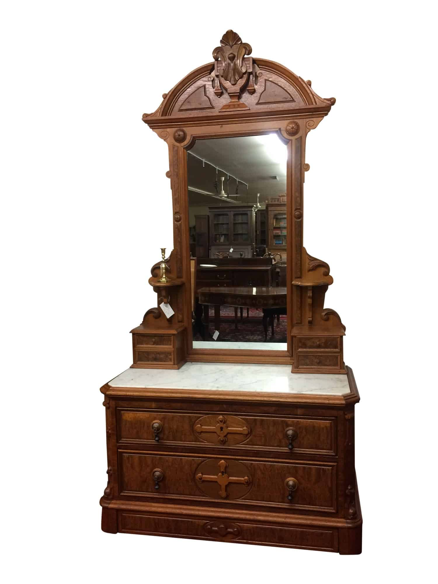 Antique Dresser With Mirror Marble Top Dresser Bohemian S Antiques