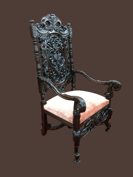 antique gothic chair - Antique Gothic Chair ⋆ Bohemian's