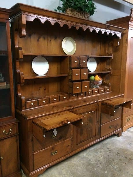 "Pine Country Hutch Cabinet ""SOLD"" ⋆ Bohemian s"