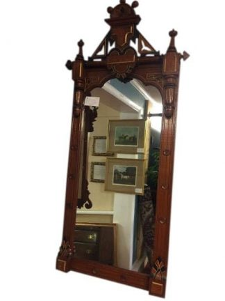 antique gothic mirror