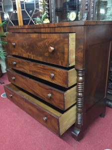 antique dresser mahogany