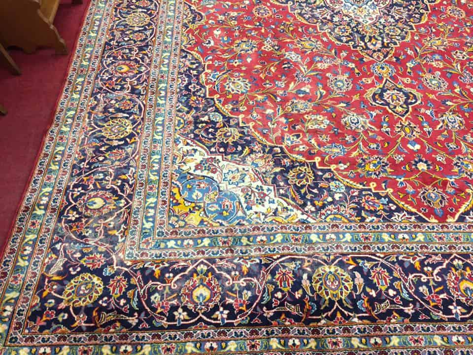 Room Size Persian Kashan Rug 9 11 Quot By 13 3 Quot Quot Sold