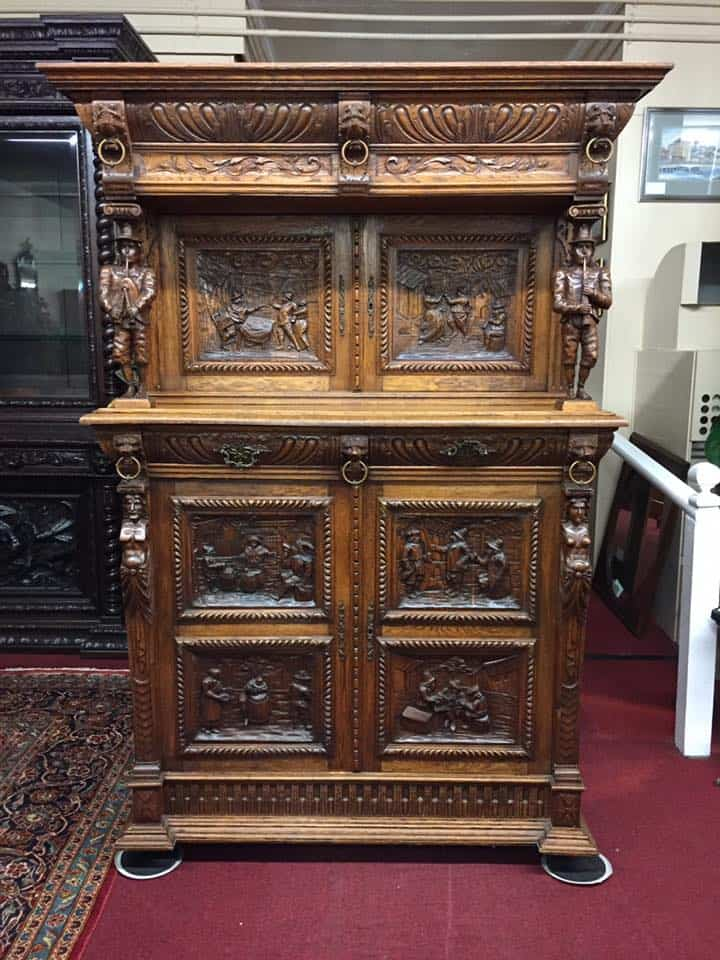 Antique French Cabinet - Antique French Cabinet ⋆ Bohemian's