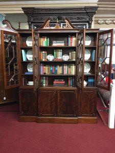 antique mahogany china cabinet
