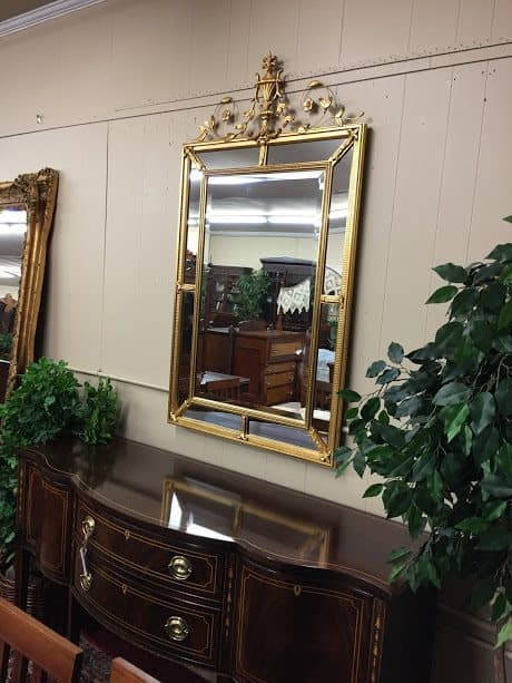 """Adams Style Gilded Beveled Mirror """"Sold"""" ⋆ Bohemian's"""