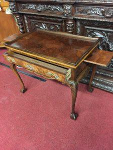 vintage tea table