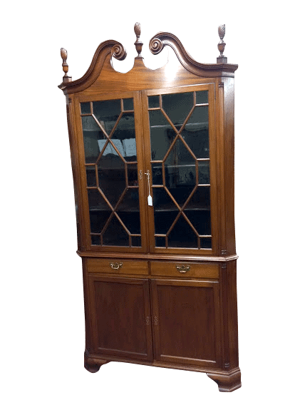 High Quality Antique Corner Cabinet