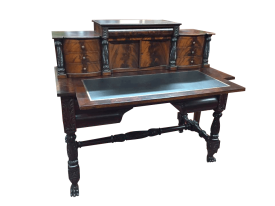 Antique Mahogany Empire Desk