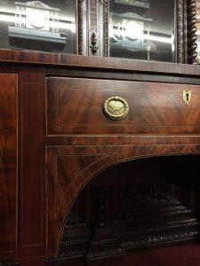 inlaid sideboard