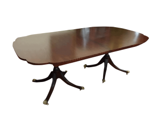 kindel furniture mahogany table