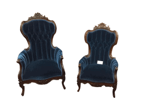 carved victorian chairs