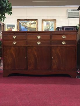 sligh mahogany buffet sideboard