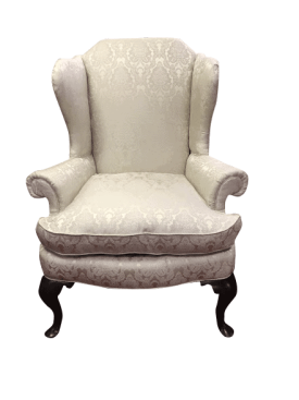 Antique 19th Century Gettysburg Wing Back Chair