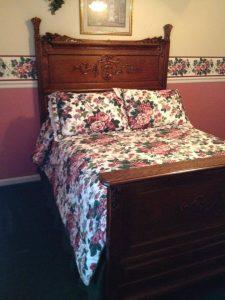 19th century oak bed