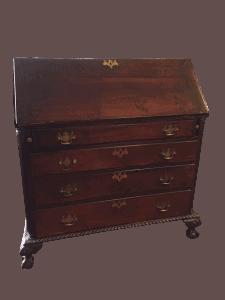 antique slant front desk