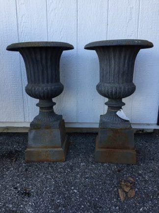 small garden urns