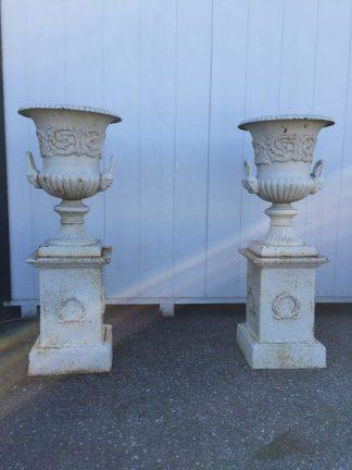 Tall Garden Urns