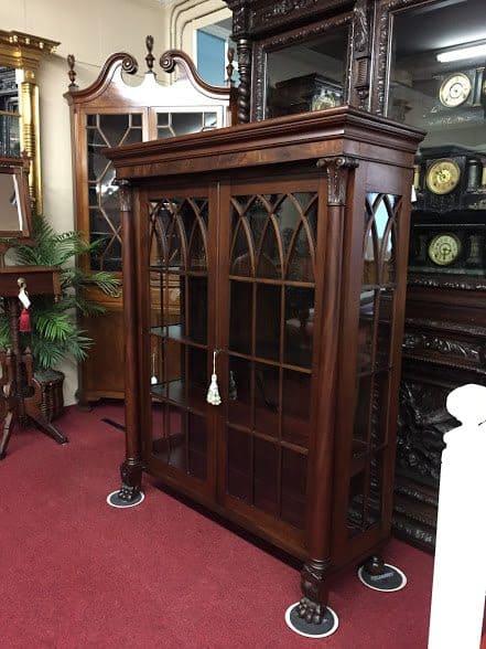 Antique Bookcase China Cabinet ⋆ Bohemian S
