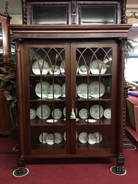 ... antique china cabinet ... - Antique Bookcase - China Cabinet ⋆ Bohemian's
