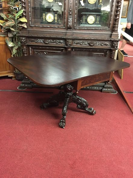 Antique Drop Leaf Table >> Antique Drop Leaf Table - Claw Foot Table ⋆ Bohemian's
