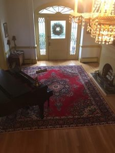 rug foyer decorating