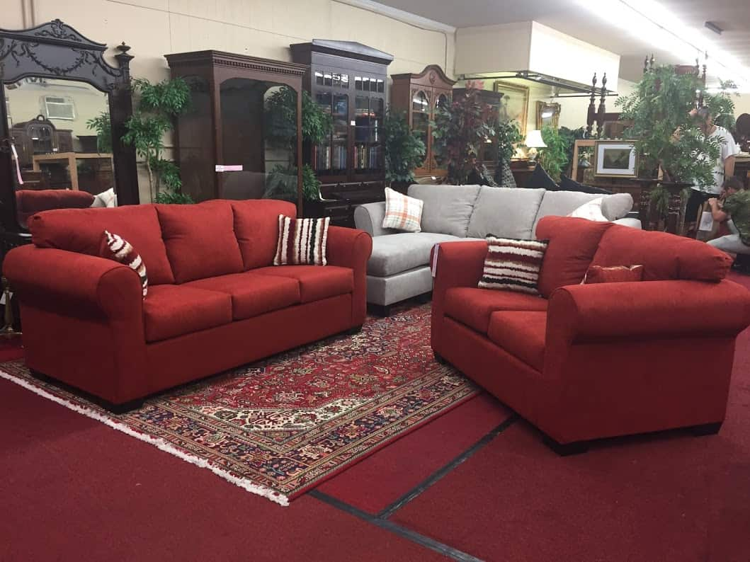 Rust Sofa And Loveseat Set Sold ⋆ Bohemian S