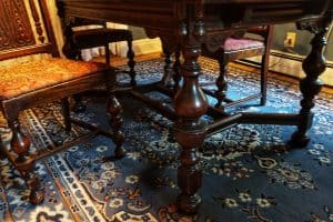 antique trestle table value