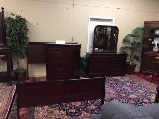 cherry bedrooms set