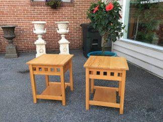 oak arts and crafts tables