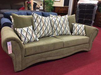 olive sofa