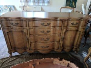 What's my French dining room set worth?
