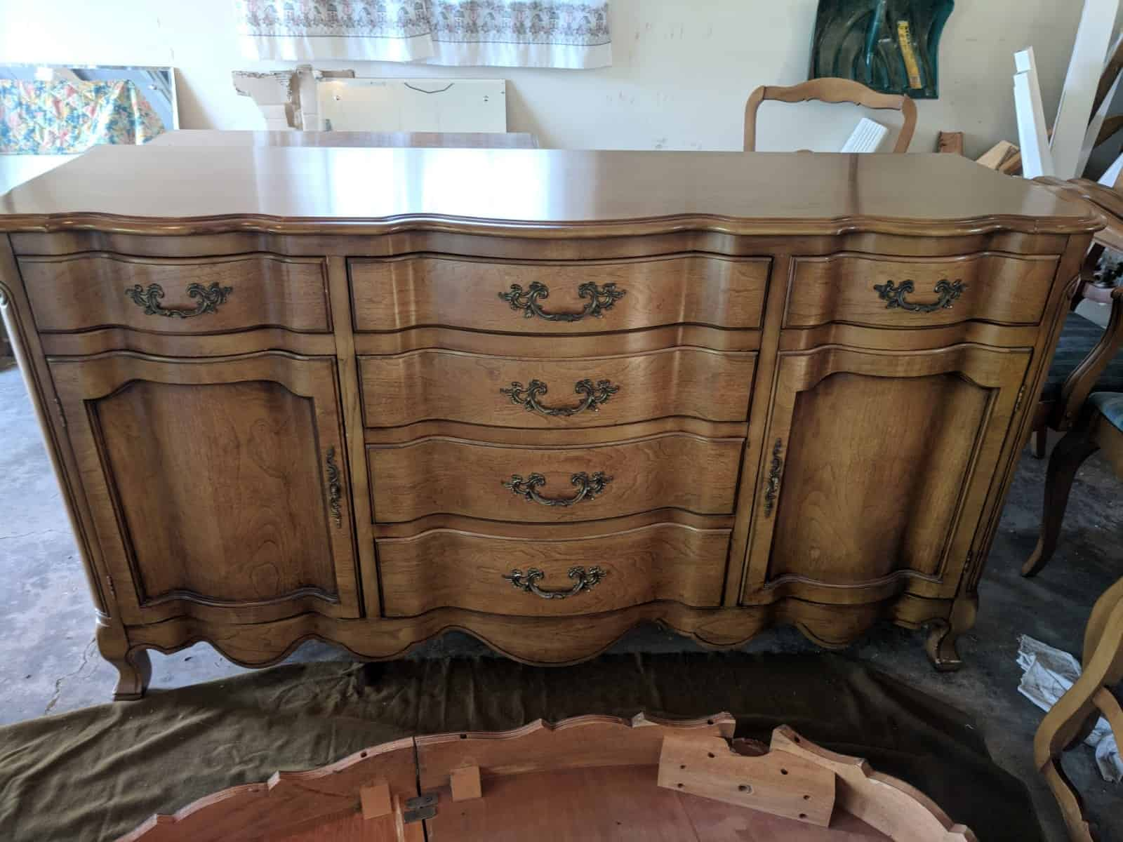 French Provincial Dining Room Set For Sale