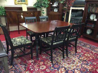 vintage table set