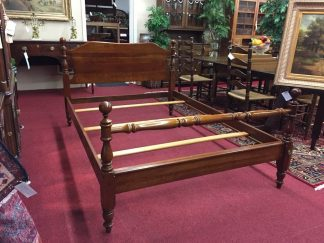 cherry double bed