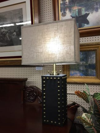 studded lamp