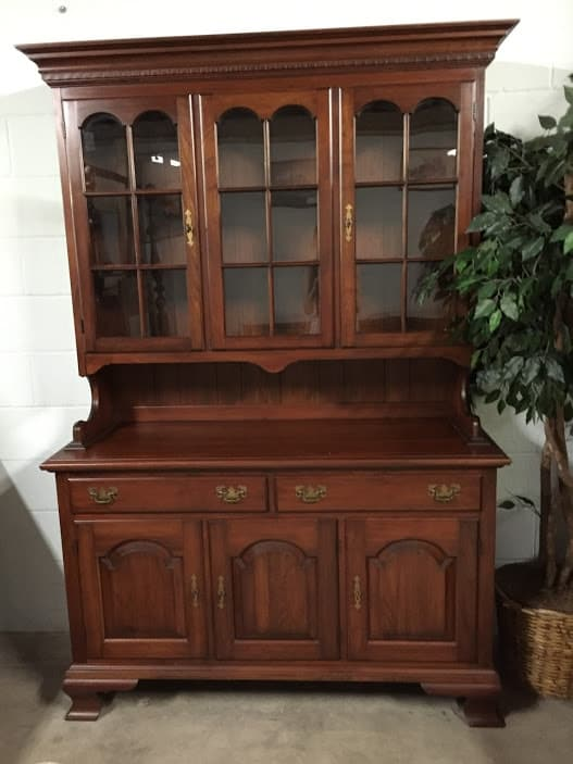 Pennsylvania House Furniture Solid Wood Hutch ⋆ Bohemian S